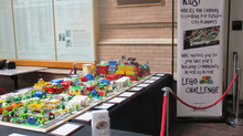 2018 LEGO Community Build Exhibit                               'Community Block by Block'