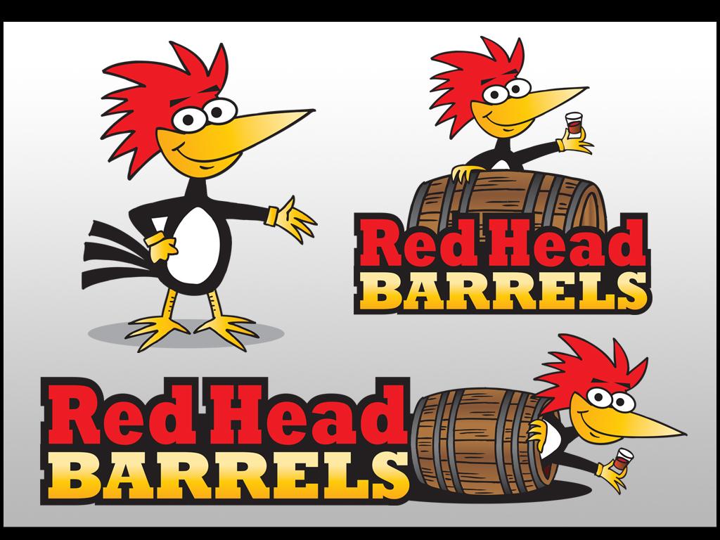 RedHead Barrels logo