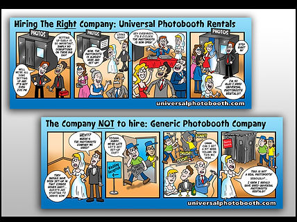 Cartoonist For Hire - Custom Cartoons and Illustrations by Rick Menard