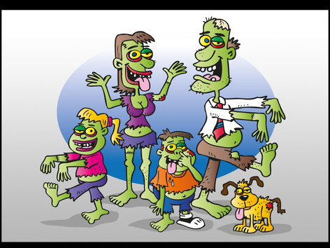 'The Zombie Family'