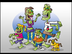 'The Zombie Family'
