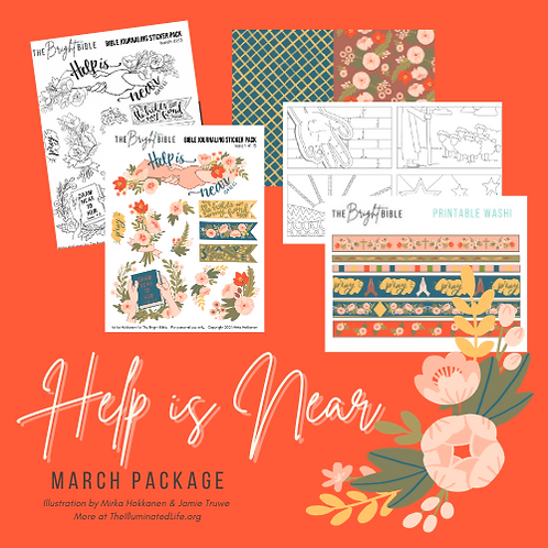 Help Is Near - March Themed Package
