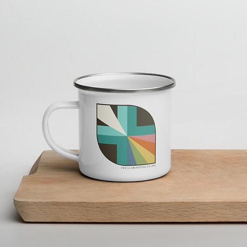 The Illuminated Life Logo - Enamel Mug