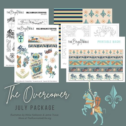 The Overcomer - Themed Printable Pack