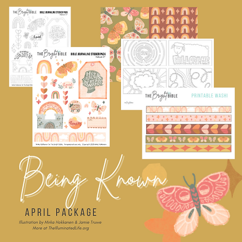 Being Known- Monthly Themed Package