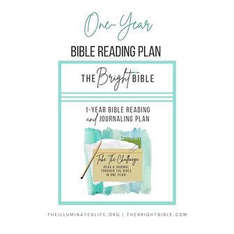 1-Year Bible Reading Plan