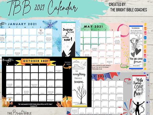 2021 TBB Calendar