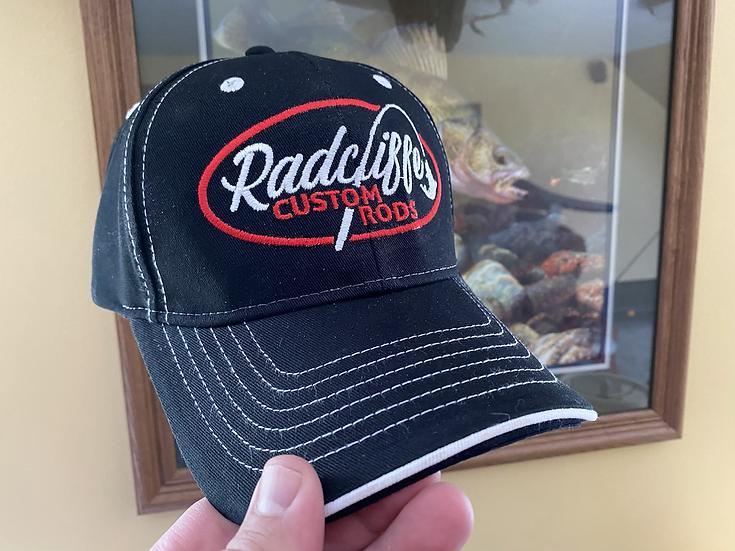 Radcliffe Custom Rods Pro Staff Black Cap