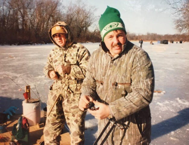 Jerry & Mark on the ice