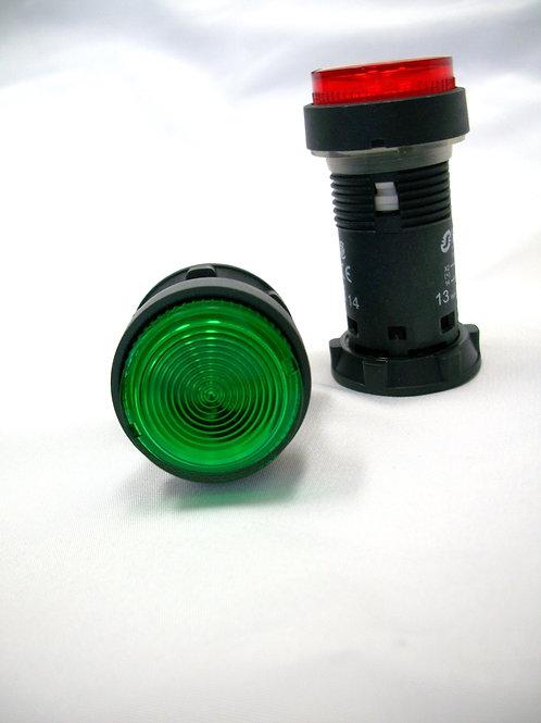 Push Button, Green Illuminated For Electric Interlock