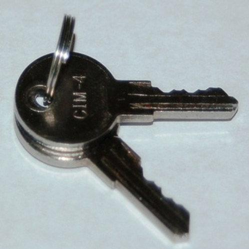 Keys For Intake Door (Pair)