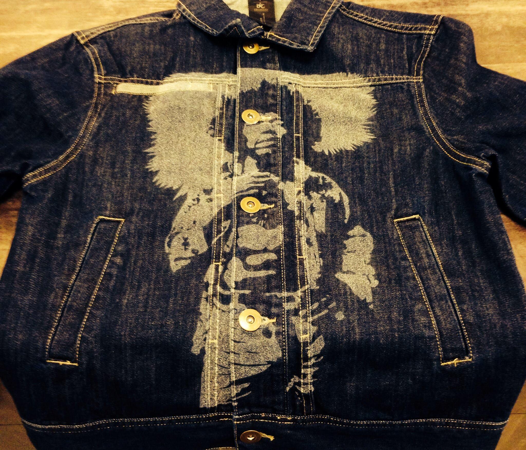 Stampa su Jeans - J.Hendrix