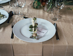M'Pressed Inc. Wedding Dinner Table Decor