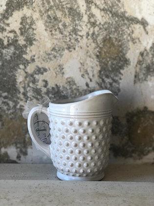 Small Porcupine Ceramic Pitcher