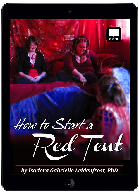 How to Start a Red Tent (eBook) - 50% off Promo