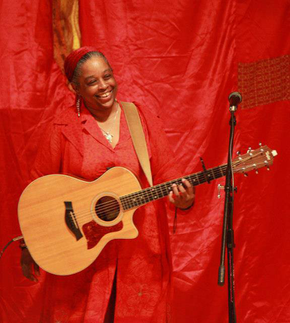 Mother Turtle performing at the Red Tent movie premiere