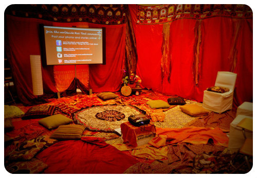Red Tent & Screening at Lunapads, Vancouver, B.C., Canada