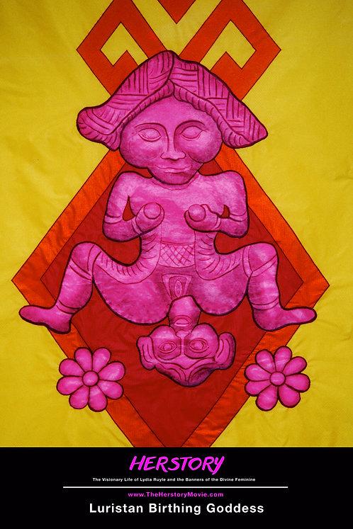 Luristan Birthing Goddess