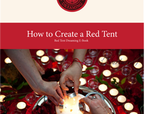 How to Create a Red Tent Altar