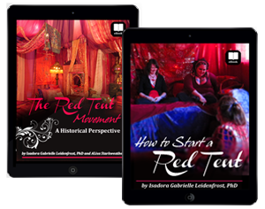 """""""The Red Tent Movement"""" eBook  + """"How to Start a Red Tent"""" eBook"""