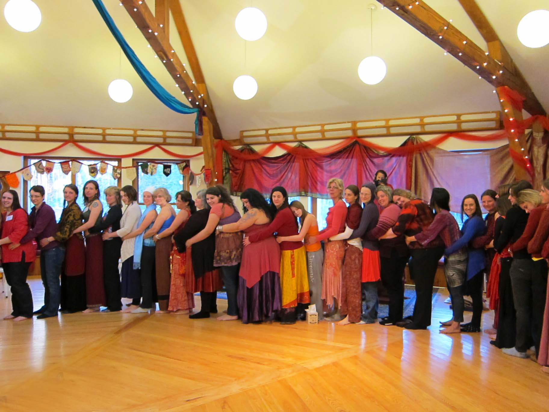 Red Tent Temple at the Belly and Womb Conference
