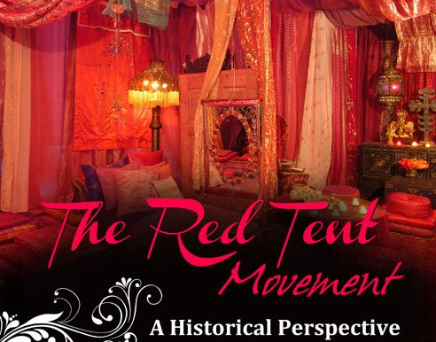 #TheRedTent has a history, but what is it?