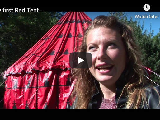 My First Red Tent…