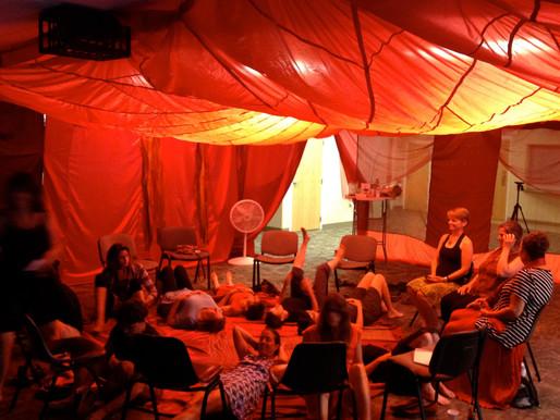 Womb of Light:  Conscious Menstruation as a portal for evolution