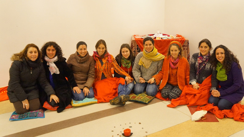Red Tent in Chile