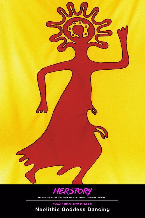 Neolithic Dancing Goddess