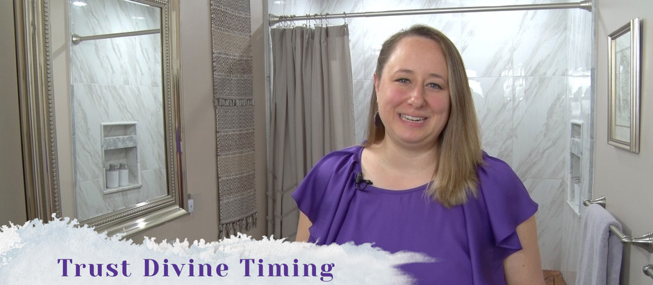 Trust Divine Timing | Save Money on your Bathroom Remodel