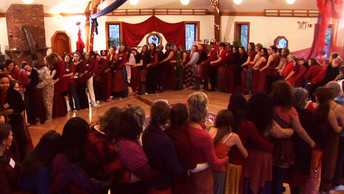 Red Tent Temple at the Women's Belly and Womb Conference