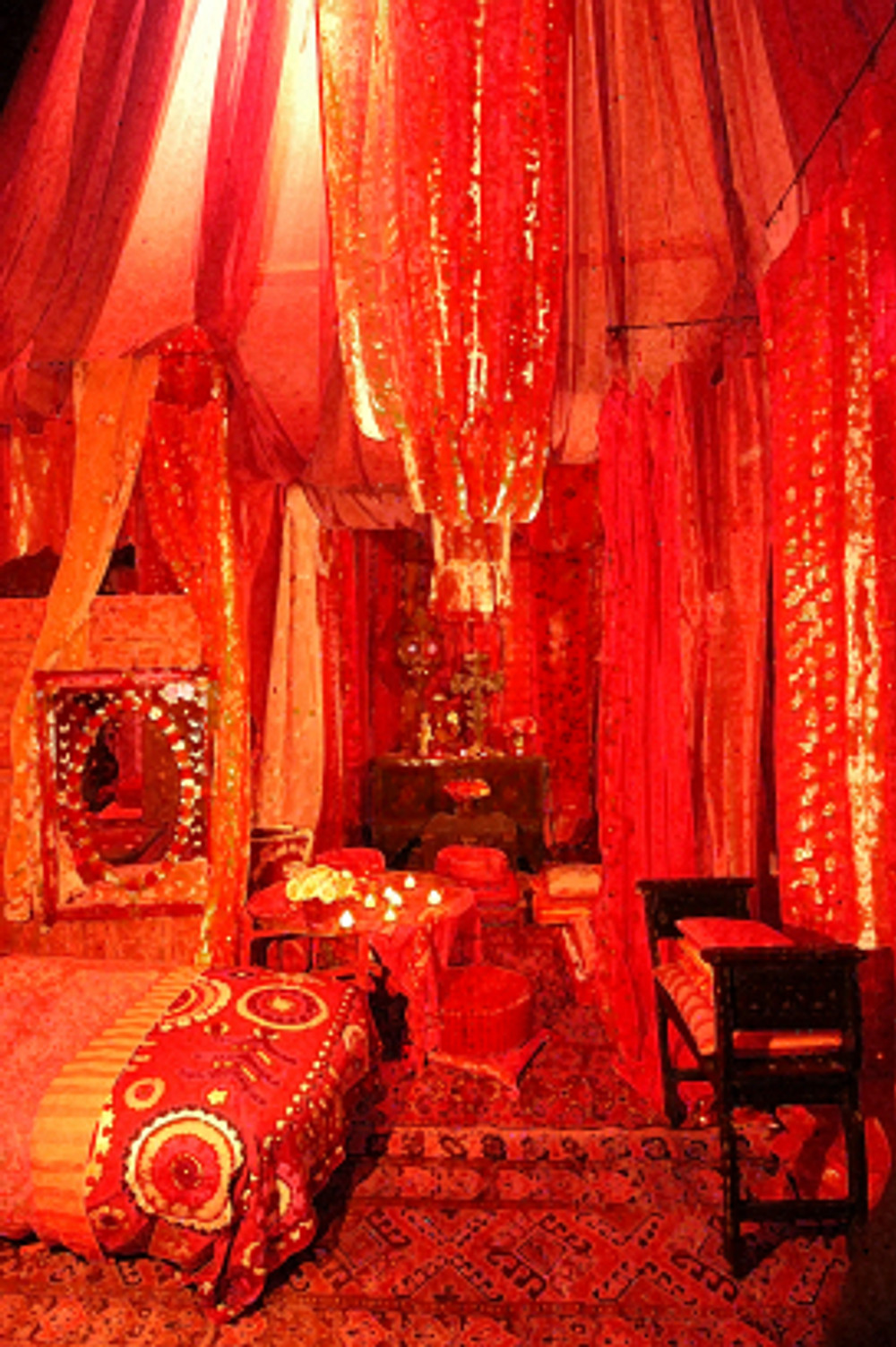 Red Tent, ABC Carpet & Home Store, New York, NY.