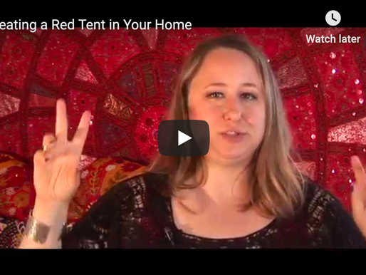 Bringing the Red Tent home