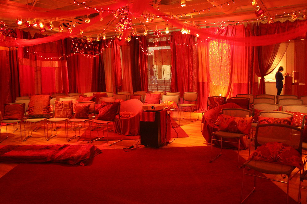 Red Tent at a screening