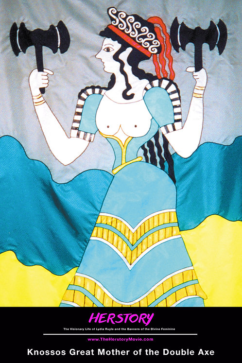 Knossos Great Mother of the Double Axe