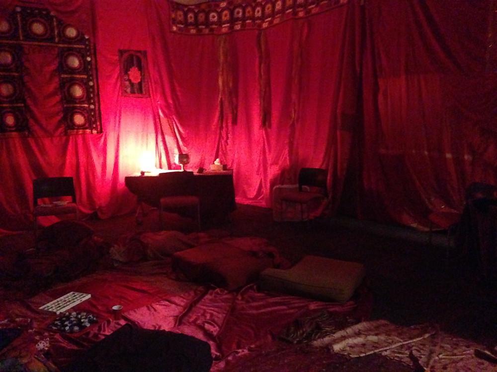 Red Tent at the Jonesboro, AR screening