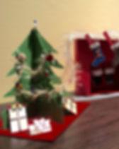 3-D Christmas Cards