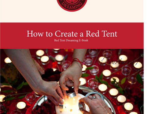 Ways to honor your menstrual cycle in your Red Tent