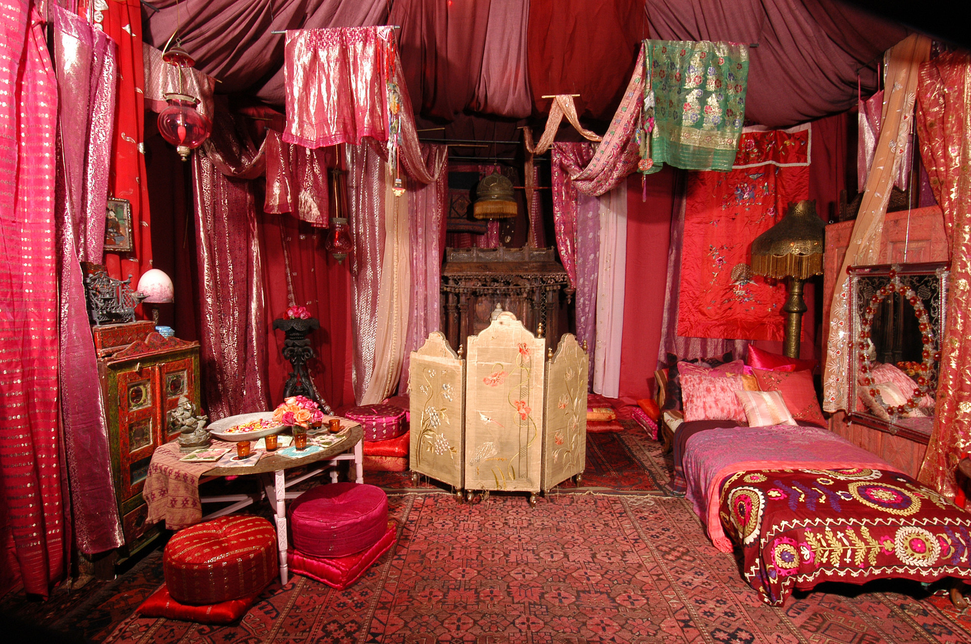 Red Tent at the ABC Carpet and Home Store
