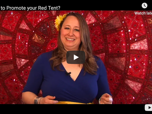 How to Promote your Red Tent