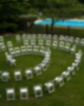 Wedding Chair Spiral