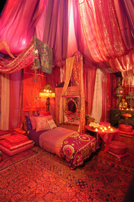 Red Tent at the ABC Carpet & Home Store