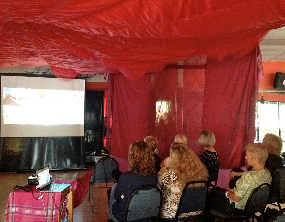 Boca Raton, FL Red Tent Movie screening