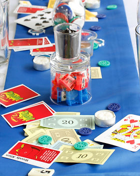 Boardgame Wedding Centerpeice
