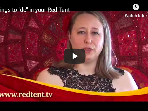 3 Ideas of how to care for each other in your Red Tent