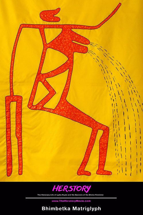 Bhimbetka Matriglyph
