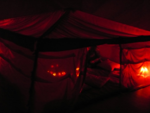 Beneath the Red Tent