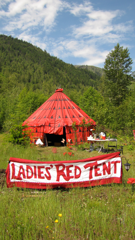 Jasmin Starchild's Red Tent