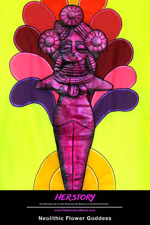 Neolithic Flower Goddess